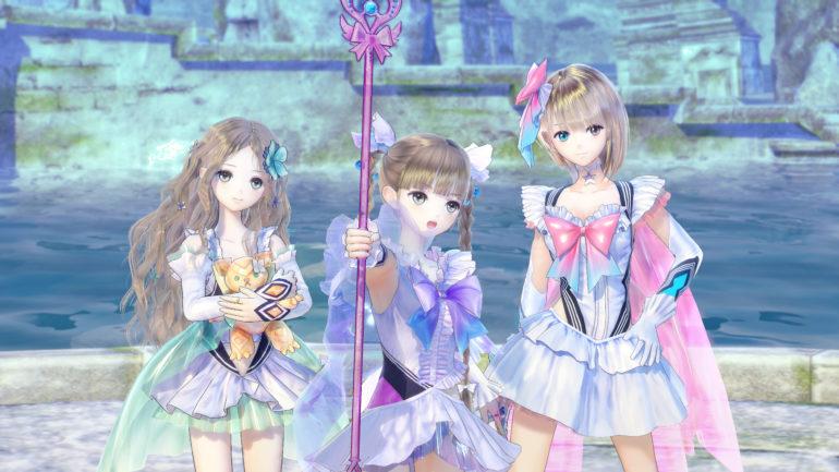 Blue Reflection The Kawai gang