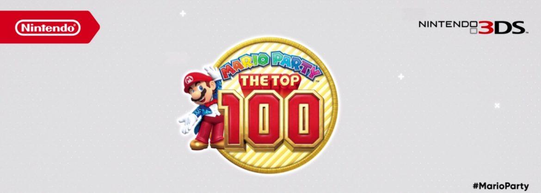 Mario Party: The Top 100 Logo
