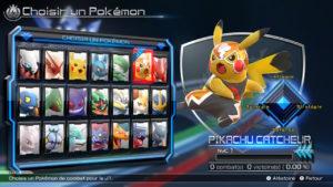 Pokkén Tournament DX - Sélection des Pokémon