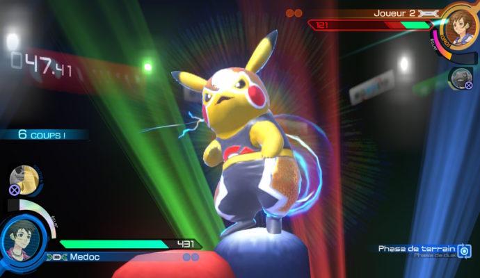 Pokkén Tournament DX - Pikachu Catcheur