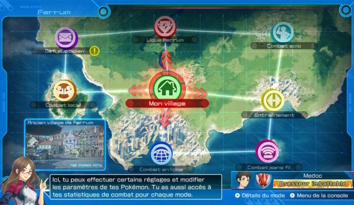 Pokkén Tournament DX - Carte de Ferrum