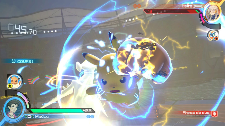 Pokkén Tournament DX Pikachu poing éclair