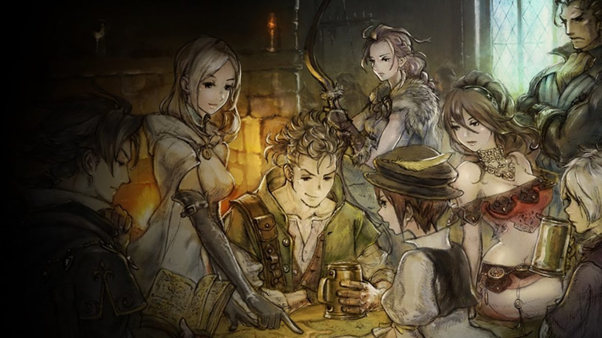 Project Octopath Traveler personnages