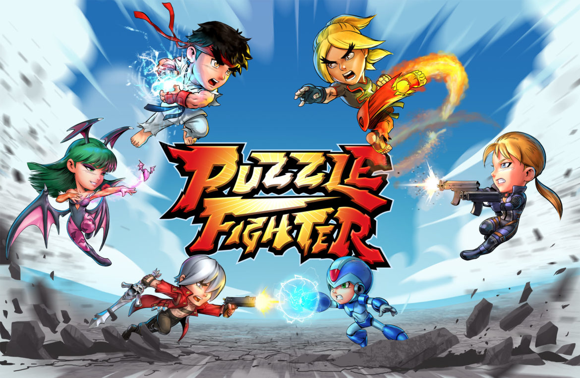 Puzzle Fighter logo