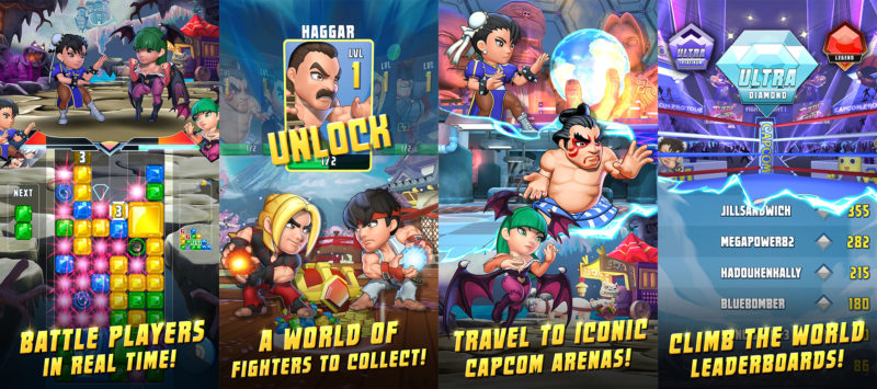 Puzzle Fighter personnages