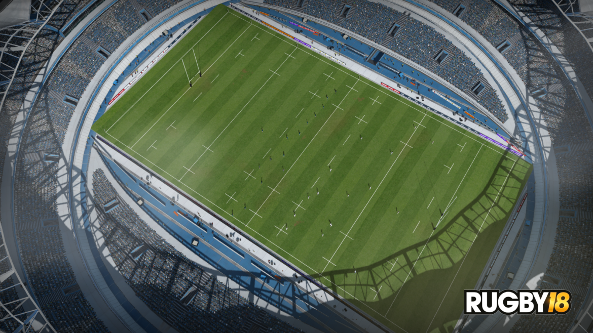 Rugby 18 - stade