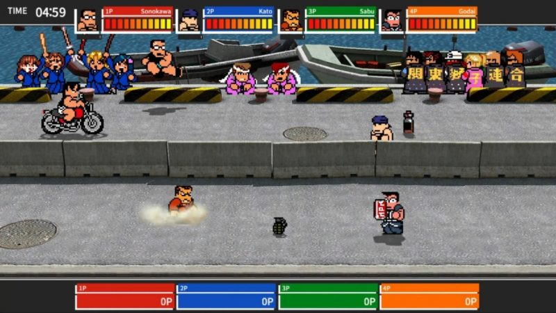River City Melee: Battle Royal SP moto