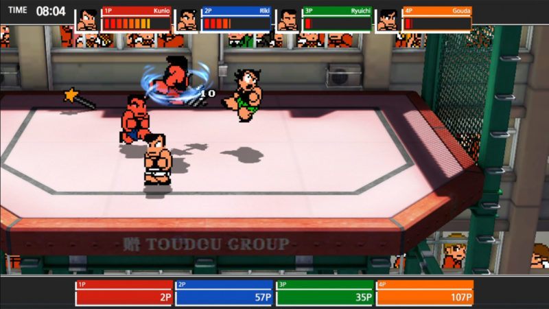 River City Melee: Battle Royal SP combat