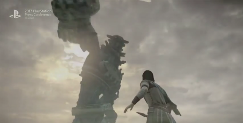 Shadow of the Colossus titan TGS 2017