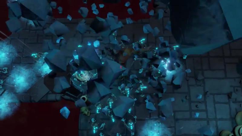 MetaMorph: Dungeon Creatures chute de pierres