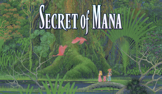 Secret of Mana - écran titre