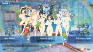 Senran Kagura: Peach Beach Splash sélectionner son équipe
