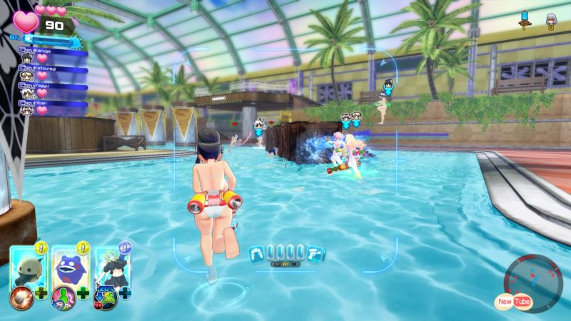Senran Kagura Peach Beach Splash Gameplay