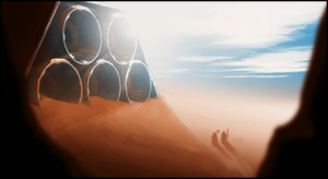 Shortest Trip to Earth illustration réacteur d'un vaisseau