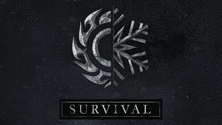 Skyrim logo mode survie