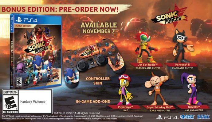 Sonic Forces Edition Bonus PS4