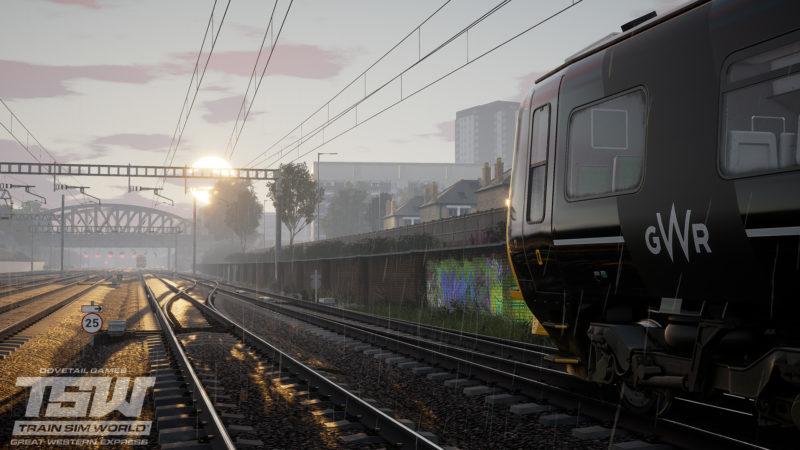 Train Sim World: Great Western Express pluie et soleil sur les rails