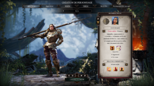 Divinity: Original Sin II - création personnage