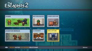 The Escapists 2 - Menu