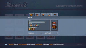 The Escapists 2 - personalisation