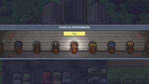 The Escapists 2 - choix de personnage
