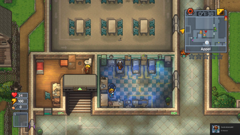 The Escapists 2 - hôpital