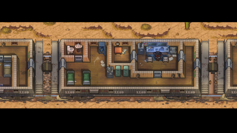 The Escapists 2 - train