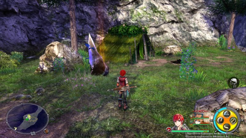 Test Ys VIII Lacrimosa of Dana - campement