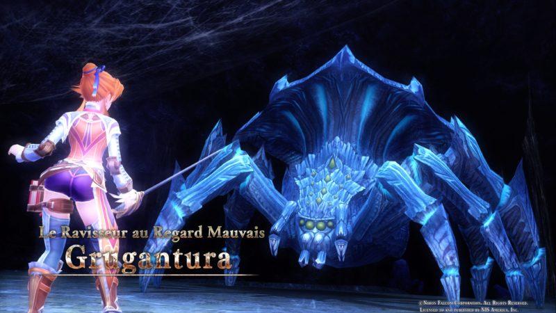 Ys VIII: Lacrimosa of Dana - Boss araignée