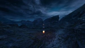 The Chinese Room Dear Esther sombre et chandelle