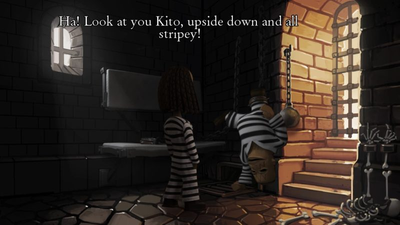 The Journey Down: Chapter 2 bwana et kito en prison