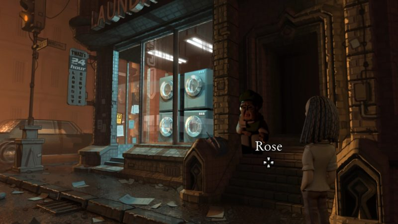 The Journey Down: Chapter 3 rose