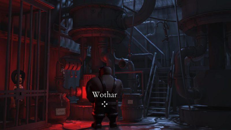 The Journey Down: Chapter 3 wothar et lina dans le pit