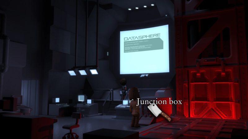The Journey Down: Chapter 3 junction box coupée avec un couteau