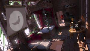 The Journey Down: Chapter 3 intérieur de la cabane avec Lina