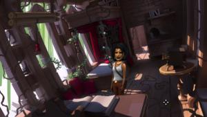 The Journey Down: Chapter 3 Lina dans la cabane