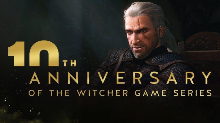 The Witcher joyeux anniversaire Geralt