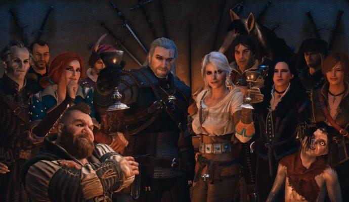 The Witcher tous les héros