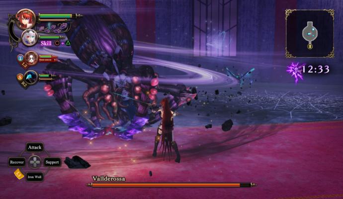 Night of Azure 2: Bride of the New Moon Spider-waifu