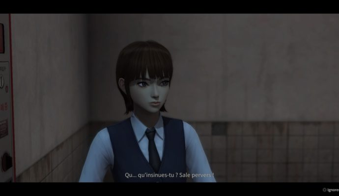 White Day: A Labyrinth Named School dialogue naze