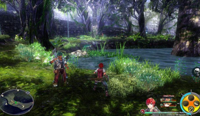 Ys VIII Lacrimosa of Dana - forêt