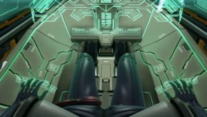 Zone of the Enders: The 2nd Runner - MARS Vue cockpit