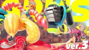 ARMS Lola Pop sur Nintendo Switch