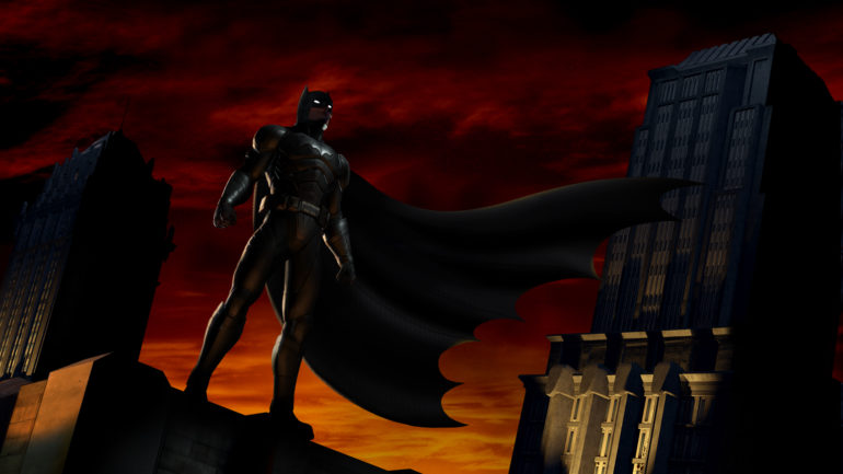 Batman The Telltale Series: The Enemy Within pose cool