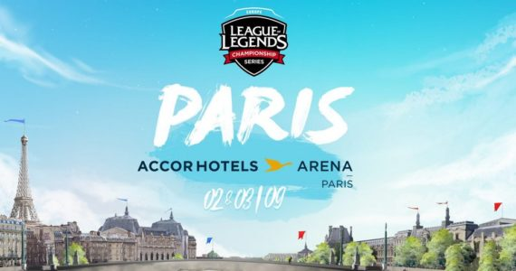 League of Legends EU LCS finale à paris