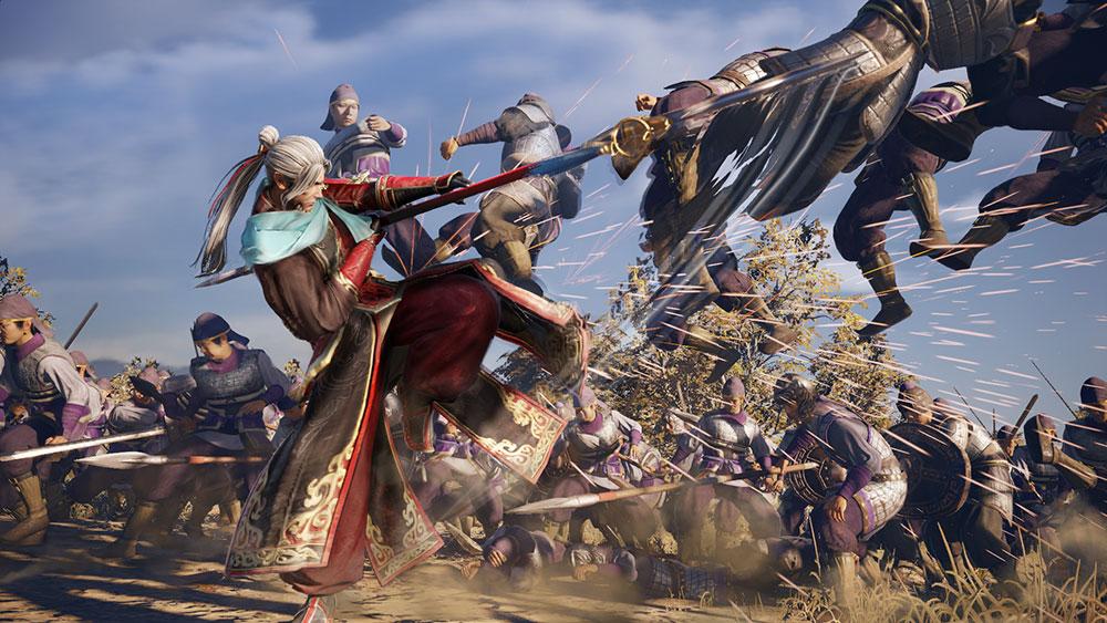 Dynasty Warriors 9 combat