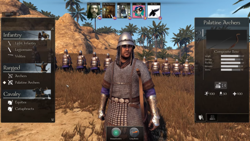 Mount and Blade 2: Bannerlord personnalisation armée