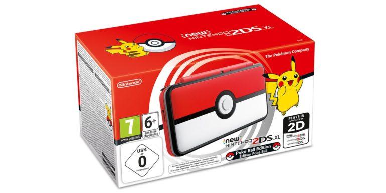 nintendo 2DS XL pokémon boîte