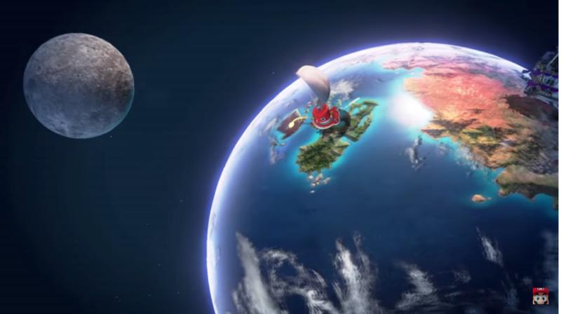 Super Mario Odyssey l'Odyssée, le vaisseau de mario