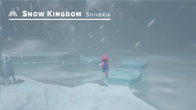 Super Mario Odyssey Snow kingdom